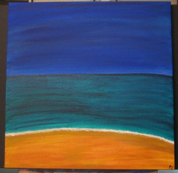 Abstract Seascape by DiabolicalRob