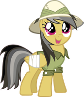 Daring Do Vector by ArtPwny