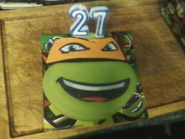My 27th Birthday Cake by DoctorWhoOne