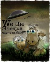 We the Sheeple by sicklilmonky
