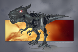Grimlock by Static-ghost