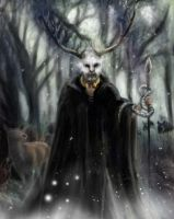 Doggerland forest lord by staticgirl
