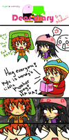 kyle x wendy comic by stefawii