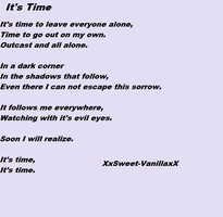 It's time by XxSweet-VanillaxX