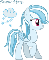 .:Official Debut:. Snow Storm by MlpXbox