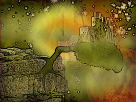 Castle in the Sky of sorts 010 by LazyBonesStudios