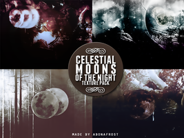 Celestial Moons of the Night by abonafrost