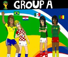 World cup Brazil 2014: Group A by SILENTWARRIOR3800