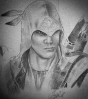 Connor Kenway by SmurfKai
