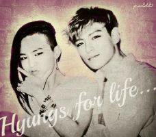 GTOP- Hyungs For Life by KateW49