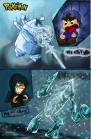 Me n' the Ice Golems Over the Years by EmoHoodieDude