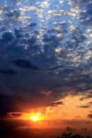 sunset in istanbul by matricaria72