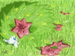 Shaymin DS Painting by frostarei