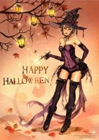 Hottie Halloween by feng-gao-long