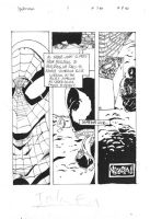 Spider Man Comic page by Cissell