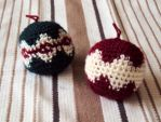Crocheted Christmas Ornaments with Free Pattern by StarbeamerPatterns
