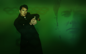 Jack Harkness widescreen wallpaper by Leda74
