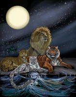 Big Cats Last Foothold by HouseofChabrier