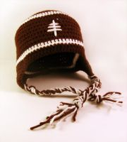 FOOTBALL EARFLAP HAT by DoctoramalL