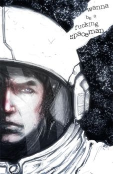 ...the spaceman... by fdp82
