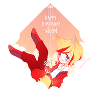 hAPPY BIRTH MION by cmmn