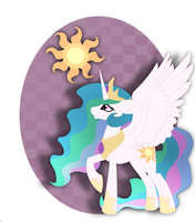 9 - Princess Celestia by BatLover800