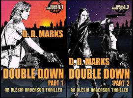 Double Down Parts 1 and 2 (cover art) by ruzkin