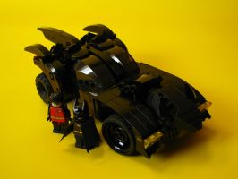 LEGO Batmobile by AntVar