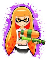 Splatoon - Are You A Kid Or Squid? by Paterack