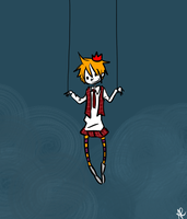 OC- HANGING BY A THREAD by annit-the-conqueror