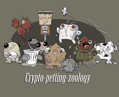 Crypto-petting-zoology by monster-comic