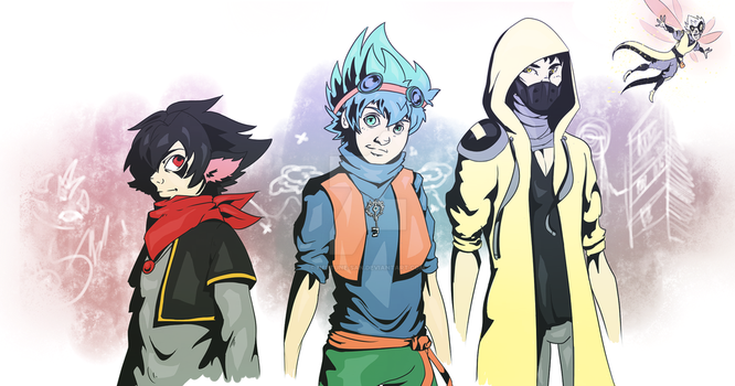 Fighters by Neptune-san