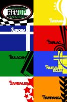 rev up central luzon flags by eggay