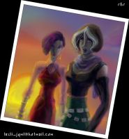XME: Groovy Rogue and Risty by lesliweird