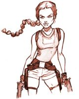 Lara Croft Tomb Raider by WarBrown