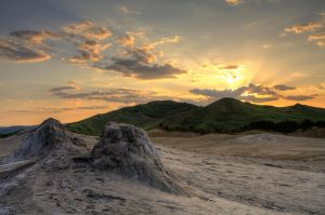 Mud Volcanoes Buzau by seraphRo