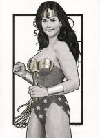 Lynda Carter Modern Day Wonder Woman by Promethean-Arts