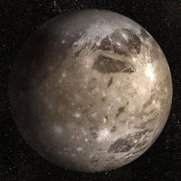 GANYMEDE - JUPITERS MOON by mr-nerb