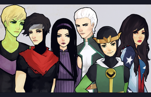 young avengers by battlerobots