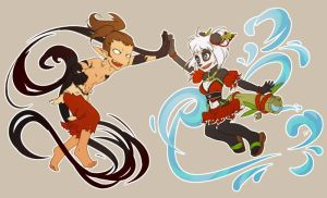 Wakfu:: High Five!! by aketan