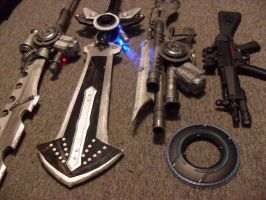 Noctis Weapons a1 by Agacross