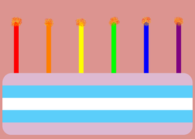 Transgender Cake 1.25 United States of American by NicLove