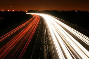 M3 Motorway Traffic Trails - 6 by fruitycube