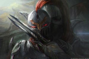 ZED FAN ART by OrekiGenya