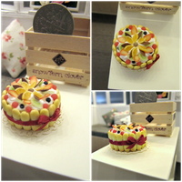 1-12 Colourful Fruit Charlotte Cake by Snowfern