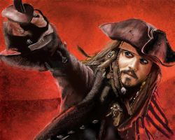 Jack Sparrow by emegi