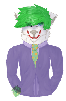 Joker by Ukulelewolfeh