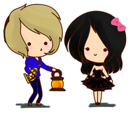 .: ANIMATION - Pewdiepie and Jennifer :. by Xx-SydneyDaFox-xX