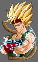 SSj2 Bardock Original by ZeroV5
