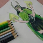 Lady Loki by Zelda-s-Lullaby